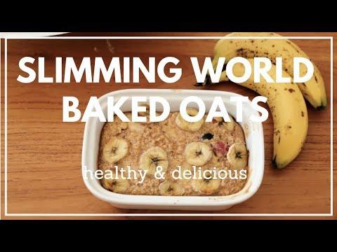 Slimming World Breakfast Ideas - Baked Oats | Best breakfast for Weight Loss