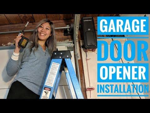 Garage Door Opener Installation [ LiftMaster 8500 ] (VLOG 18)