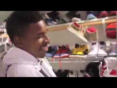 Nick  swaggy p  Young's Sneaker collection