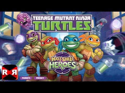 Teenage Mutant Ninja Turtles: Half-Shell Heroes (by Nickelodeon) - iOS / Android - Gameplay Video