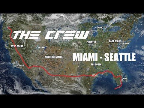 Coast to Coast Timelapse, Miami to Seattle (Long version) - The Crew