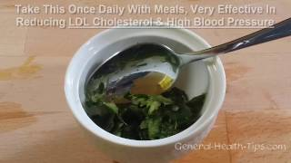 For High Blood Pressure and LDL Cholesterol - BEST 2 INGREDIENTS
