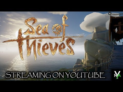 LOOTING AND PLUNDERING!! (Sea Of Thieves)- RYANT1UM Livestreams