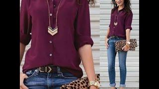 Tendencia 2017 -2018 Outfit color vino (Todo Chicas)