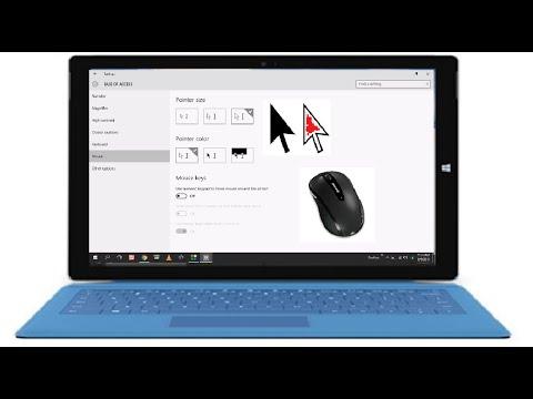 Windows 10: Change Mouse Pointer Size & Color