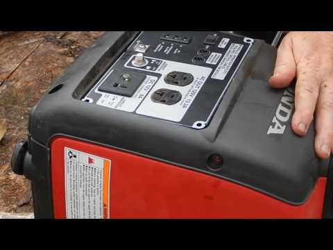 How to remove and clean the fuel filter on a Honda EU2000i generator