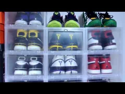 Plastic Boxes for Sneaker Storage/Display!
