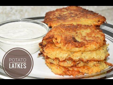 Homemade Potato Latkes Recipe - Potato Pancakes