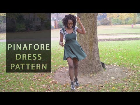 Pattern Drafting for Beginners – Pinafore Dress with Circle Skirt • Elewa