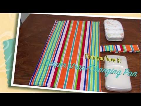 How to Make a Changing Pad Diaper Strap