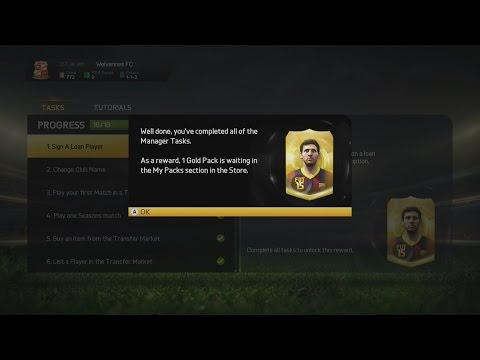 FIFA 15 Ultimate Team: How To Get 2 FREE GOLD PACKS! (Tutorial)