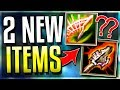 2 NEW ITEMS IN LEAGUE!! These Will Destroy League.. (Atma's Reckoning / Spear of Shojin PBE) LoL