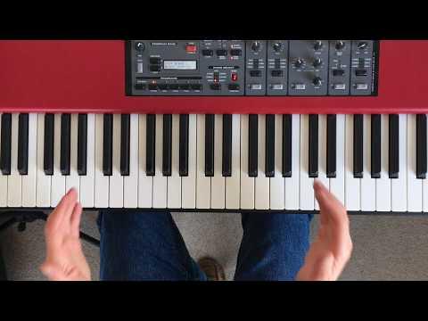 Jazz Piano Play Along Tutorial - Accompanying a Singer