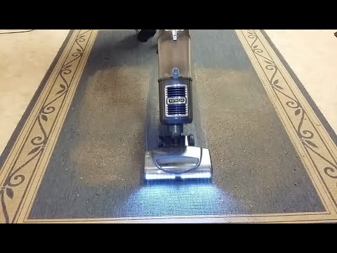 Cleaning Tests: Shark Rotator Slim-Light Lift-Away NV340 Bagless Vacuum Cleaner