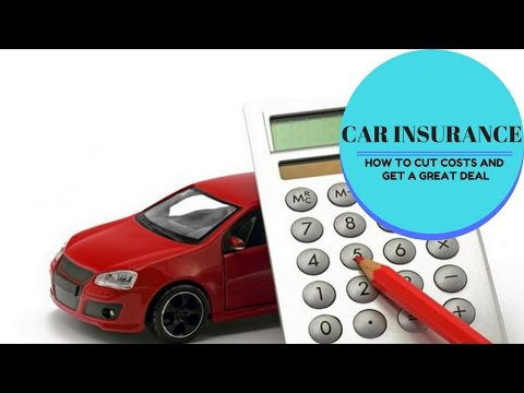 Car insurance - how to cut costs and get a great deal