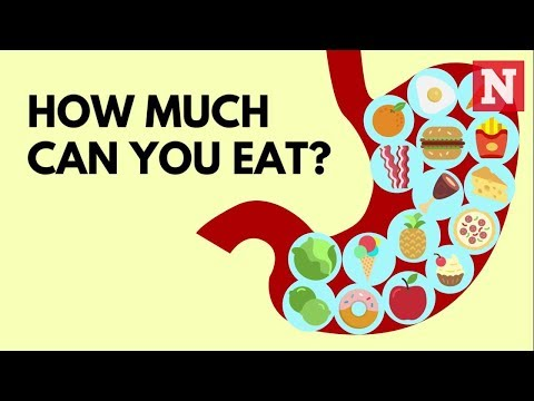 How Much Can You Eat Before Your Stomach Explodes?