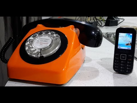 Bluetooth Dial Telephone