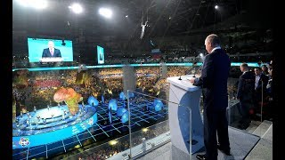 Putin opens 19th World Festival of Youth and Students in Sochi, Russia