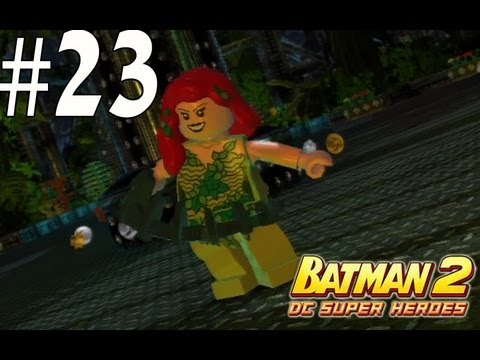 Lego Batman 2 - Unlocking Poison Ivy and Hawk Girl