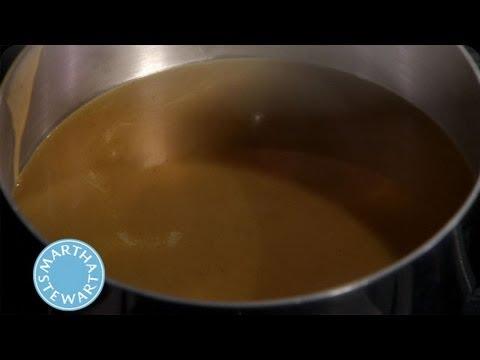 Gravy from Chicken Drippings⎢Martha Stewart's Cooking School
