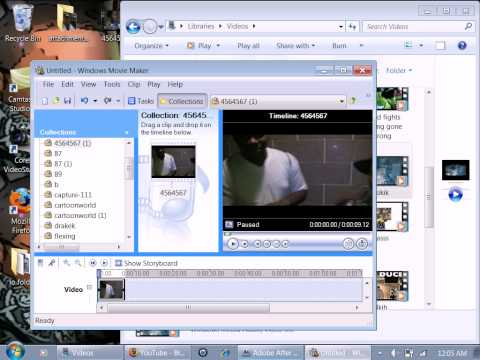 How To Edit youtube videos with movie maker convert FLV to AVI WMV