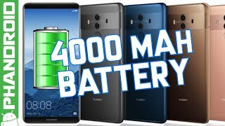 Huawei Mate 10 announced with 4000 mAh battery