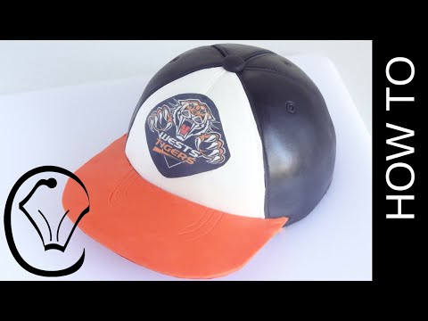 Wests Tigers NRL FootBall Cap Hat Cake by Cupcake Savvy's Kitchen