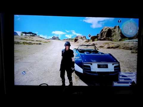 Final Fantasy 15 search and rescue side quest