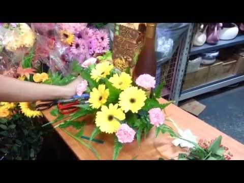 How to make Honey with Gerbera / Carnation Flowers | Singapore Florist