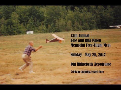 13th Annual Cole and Rita Palen Memorial Free Flight Meet 2017