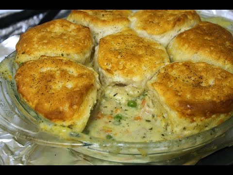 Chicken and Biscuit Pot Pie Recipe - In The Kitchen With Jonny Episode 168