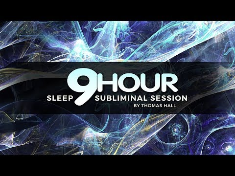 Heal Your Past & Let Go of Your Pain - (9 Hour) Sleep Subliminal Session - By Thomas Hall