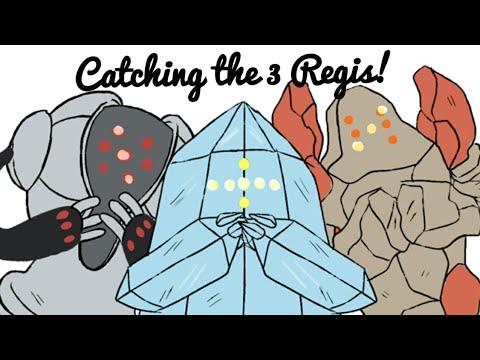 How To Catch Regice, Registeel Regirock in Pokemon Ruby
