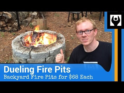 Dueling Fire Pits for $68 Each