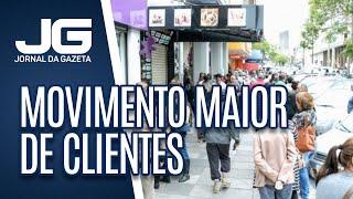 Mesmo sem flexibilizar, ruas do Centro de SP registram movimento maior de clientes