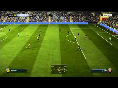 FIFA 15 PC Gameplay Borussia Dortmund VS Barcelona