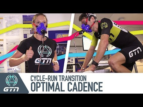 What Is The Optimal Cycling Cadence For You To Run Faster Off The Bike? | GTN Does Science