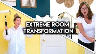 EXTREME ROOM MAKEOVER! **DIY TRANSFORMATION**