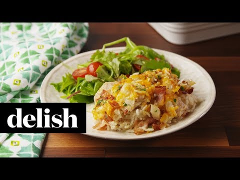 Chicken Bacon Ranch Casserole | Delish