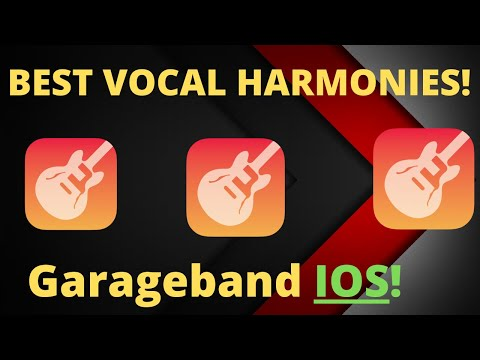 VOCAL HARMONIES in GarageBand IOS (I Fall Apart)