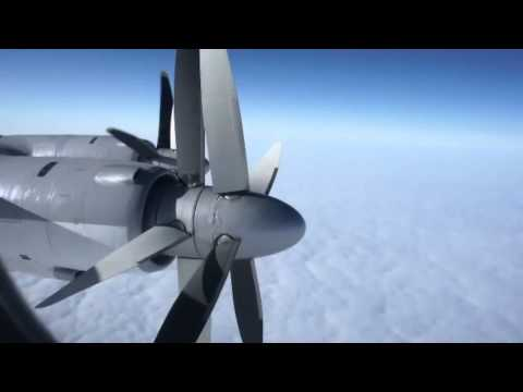 RARE | Tupolev Tu-95MS Inflight | HD