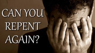 Can You Repent Again? Mike Desario Holding Firmly   Holiness Preaching and Sermons