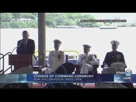 pacom change of command