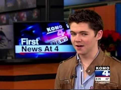 Damian Mc Ginty on Seattle's KOMO TV News, December 7, 2012
