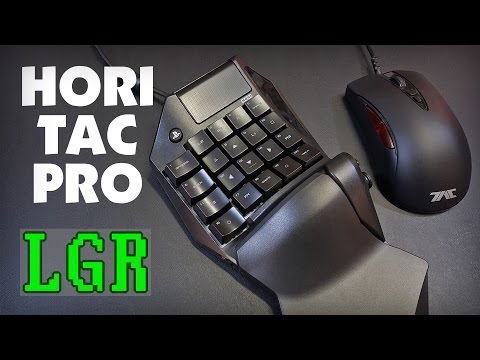 LGR - Hori TAC Pro - PS4 Keyboard & Mouse Review