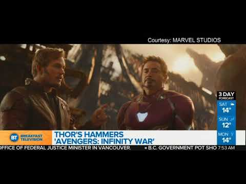 Thor's Hammers: Avengers: Infinity War