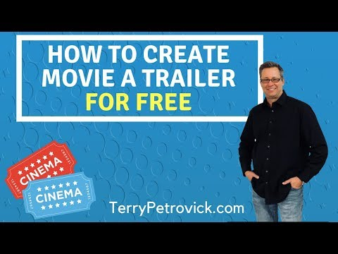 How to create movie a trailer for free
