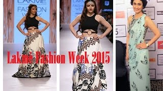 Lakmé Fashion Week 2015 | Soha Ali Khan , Ragini Khanna | Showstopper | Designer Babita | Day 3