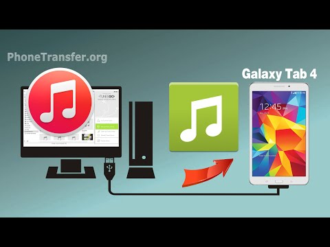 How to Sync Music & Playlist from iTunes to Samsung Galaxy Tab 4 via TunesGo