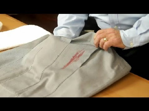 How to Remove Washable Marker From Dry Clean-Only Clothing : Leather & Fabric Care